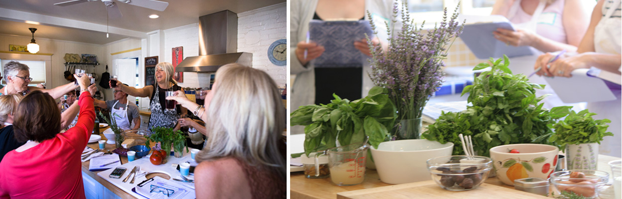 Culinary School in Ojai, CA/Lavender Inn, bed and breakfast