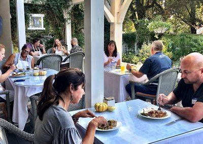 """Veranda at Ojai, CA/Lavender Inn, bed and breakfast"""""""