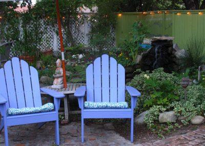 "Garden in Ojai, CA/Lavender Inn, bed and breakfast"""